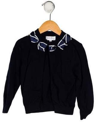 Rachel Riley Girls' Knit Long Sleeve Cardigan