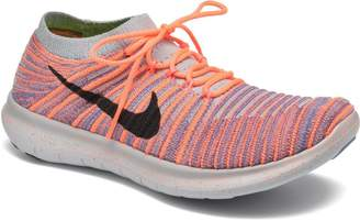 Nike Women's Free Running Motion Flyknit Shoes,