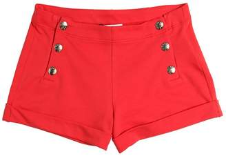 Moncler Stretch Cotton Interlock Shorts