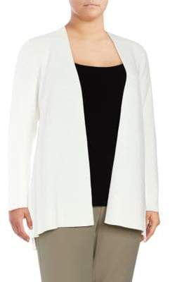 Calvin Klein Solid Ribbed Duster