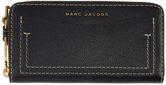 Marc Jacobs Black The Grind Continental Wallet