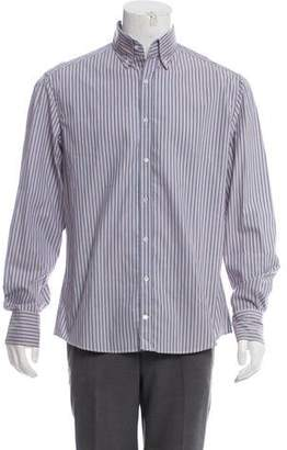 Michael Bastian Striped Woven Shirt