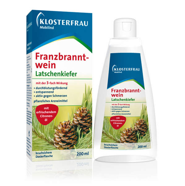 Klosterfrau Franzbranntwein Latschenkiefer by 200ml Rub)