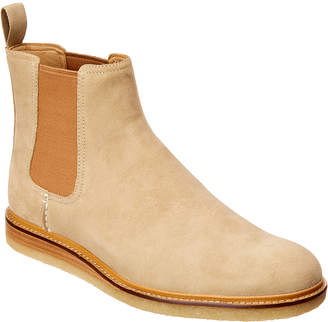Sperry Gold Crepe Chelsea Suede Boot