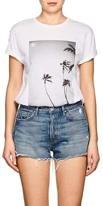 Mikoh Women's Palm Tree Cotton Jersey T-Shirt
