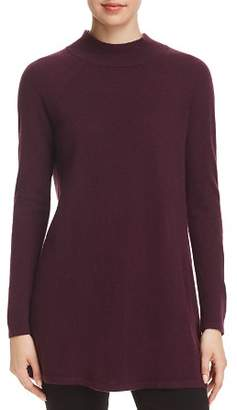 Eileen Fisher Cashmere Mock-Neck Tunic Sweater - 100% Exclusive
