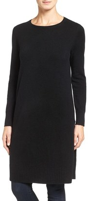 Women's Nordstrom Collection Side Vent Cashmere Tunic $329 thestylecure.com