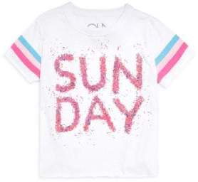 Chaser Little Girl's Sunday Sprinkles Tee