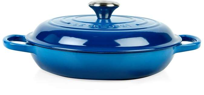 Marseille Blue Shallow Casserole Dish (26cm)