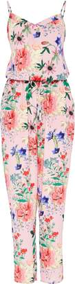 Hallhuber Jumpsuit With Floral Print