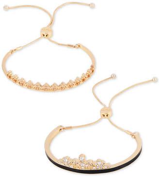 GUESS Gold-Tone 2-Pc. Set Slider Bracelets