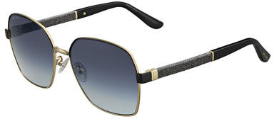 Jimmy Choo Jimmy Choo Sia Metallic Square Universal-Fit Sunglasses