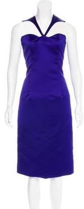 Cushnie et Ochs Satin Cocktail Dress w/ Tags