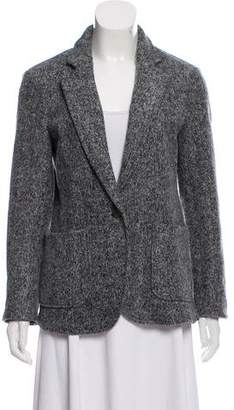 ATM Anthony Thomas Melillo Notch-Lapel Long Sleeve Blazer