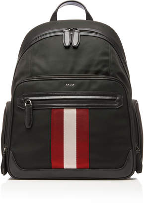 Bally Striped Technical Backpack