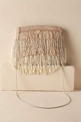 Anthropologie Roxy Fringe Clutch