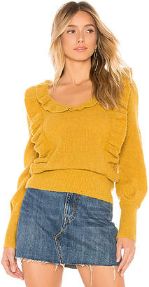 Tularosa Dahlia Ruffle Sweater