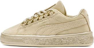 Suede Classic X-Chain Preschool Sneakers