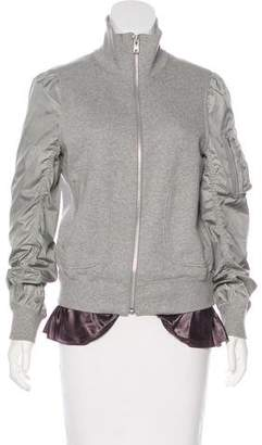 Sacai Luck Sweatshirt Zip-Up Jacket