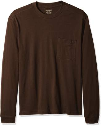 Wolverine Men's Big and Tall Knox Long Sleeve Pocketed Wick Tee, Large