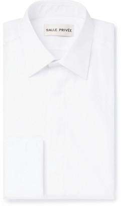 Privee Salle SALLE White Cedric Double-Cuff Sea Island Cotton Shirt - Men - White