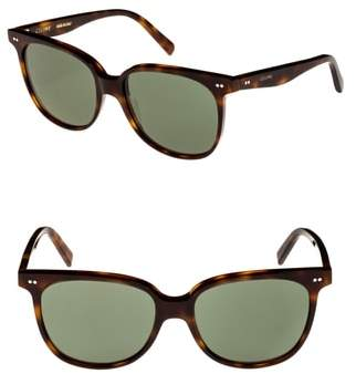 Celine 57mm Square Sunglasses