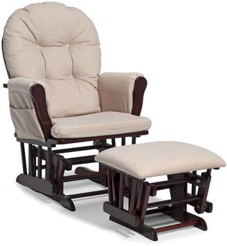 Stork Craft Coaster Hoop Glider Chair & Ottoman Set