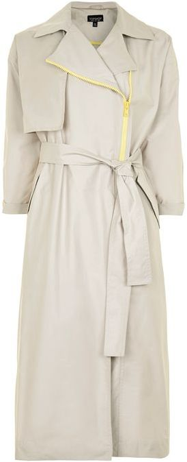 TopshopTopshop Nylon trench coat
