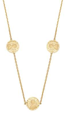 Anissa Kermiche - Louise D'or Coin 18kt Gold Necklace - Womens - Gold