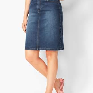 Talbots Classic Denim Skirt