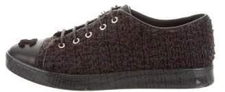 Chanel 2016 Tweed Sneakers