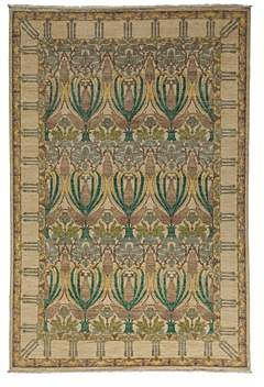 Morris Collection Oriental Rug, 6' x 8'10