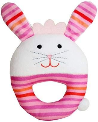 PC 赤ちゃん おもちゃ リングガラガラ ウサギ