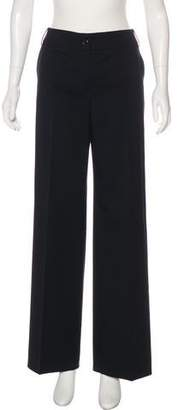 Armani Collezioni Virgin Wool-Blend Pants
