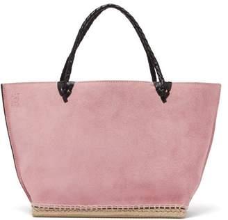 Altuzarra Espadrille Suede Tote Bag - Womens - Pink