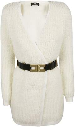 Elisabetta Franchi Celyn B. Belted Cardi Coat