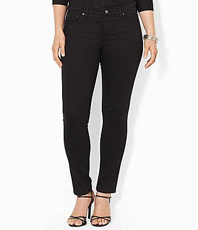Lauren Ralph LaurenLauren Ralph Lauren Plus Super-Stretch Slimming Modern Skinny Jeans