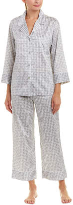 Natori Abstract Maze 2Pc Pajama Pant Set