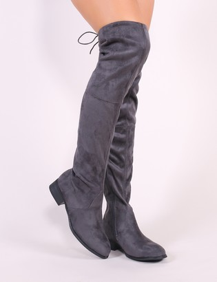 88ebce82e8c Public Desire Over The Knee Boots For Women - ShopStyle UK