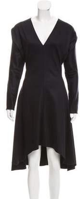 Chloé Wool Long Sleeve Midi Dress w/ Tags