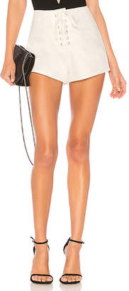 by the way. Chiara Lace Up Short