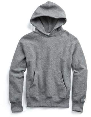 Todd Snyder + Champion Popover Hoodie Sweatshirt in Salt and Pepper