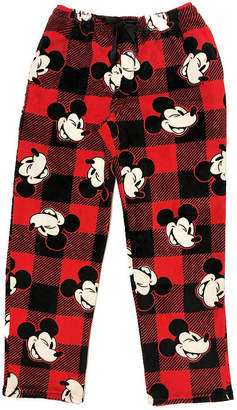 Disney Holiday Sleep Pants Mickey Mouse Plush Pajama Pants