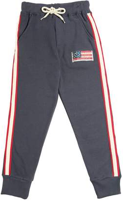 Fred Mello Cotton Sweatpants W/ Side Bands