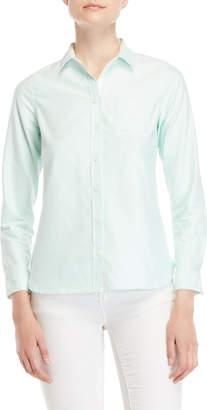 U.S. Polo Assn. Solid Pocket Oxford Shirt
