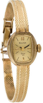 Bulova for Christian Dior Watch $745 thestylecure.com