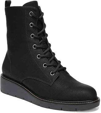Dr. Scholl's Straightup Wedge Combat Boot - Women's