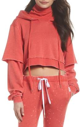 The Laundry Room Good Hood Crop Hoodie