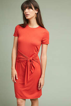 Three Dots Ischia Petite Tie-Waist Dress