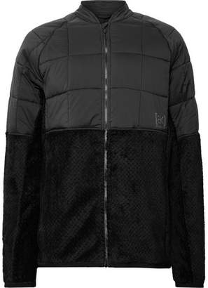 Burton Ak Hybrid Insulator Polartec® Fleece And Ripstop Ski Jacket